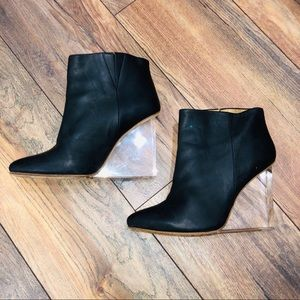 MAISON MARGIELA x H&M Clear Plexi Glass Boot US 9